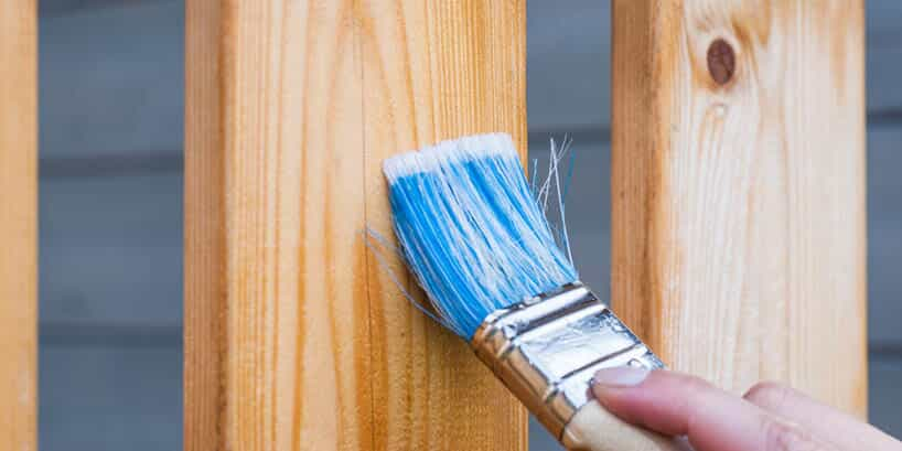 How To Use A Paint Sprayer To Paint A Wood Fence4