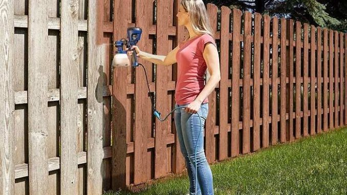 Best Paint Sprayers For Staining Fence 2020