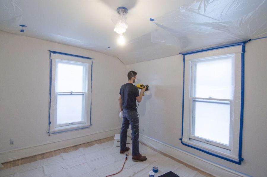 Paint-Gun-For-Interior-Walls