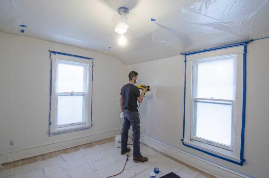 how-do-you-paint-a-room-with-a-sprayer