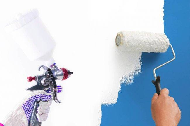 Does-spraying-paint-use-more-paint?
